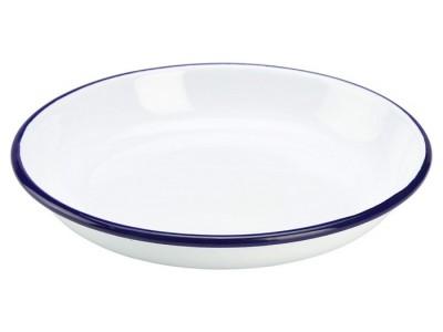 Enamel Rice/Pasta Plate 18cm