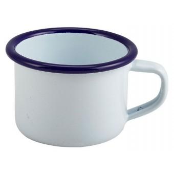 Enamel Mug White With Blue...