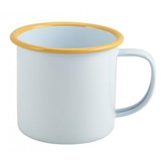 Enamel Mug White with...