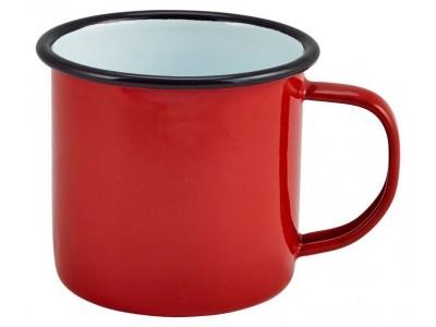 Enamel Mug Red 36cl/12.5oz
