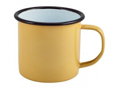 Enamel Mug Yellow 36cl/12.5oz