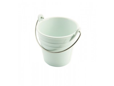 Porcelain Bucket W/ St/St Handle 11cm...