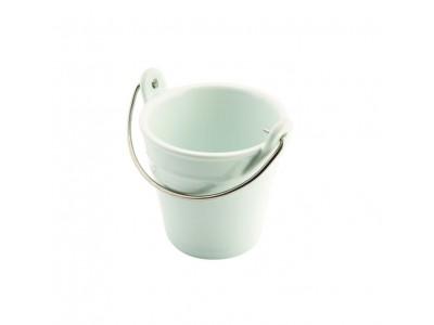 Porcelain Bucket W/ St/St Handle 9cm...