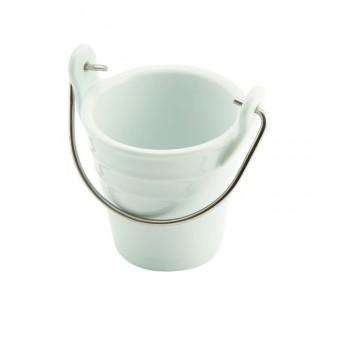 Porcelain Bucket W/ St/St...