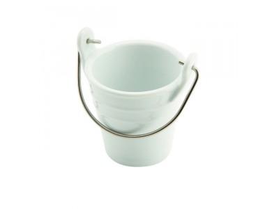 Porcelain Bucket W/ St/St Handle...