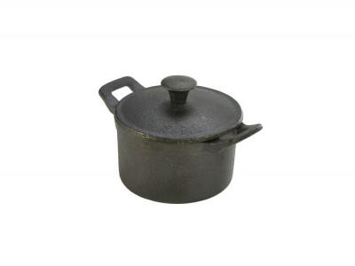 Mini Cast Iron Casserole Dish 10 x 6cm