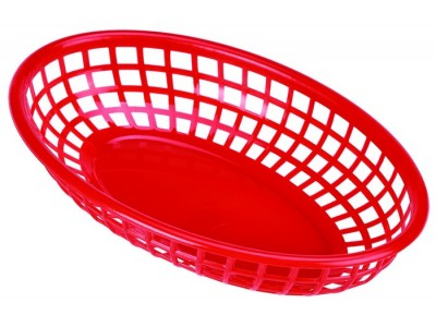 Fast Food Basket Red 23.5 x 15.4cm