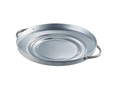 Galvanised Steel Bin Lid 24.5cm Dia