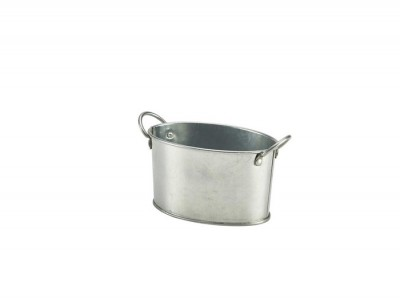 Galvanised Steel Serving Bucket 12.5...