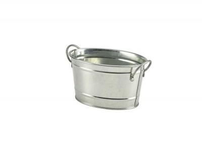 Galvanised Steel Serving Bucket 15.5...