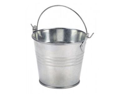 Galvanised Steel Serving Bucket 8.5cm...