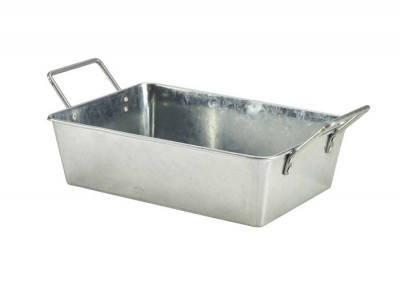 Galvanised Steel Rectangular Serving...