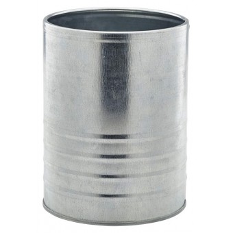 Galvanised Steel Can 11cm...