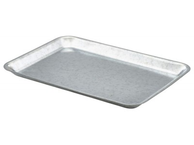 Galvanised Steel Tray 31.5x21.5x2cm