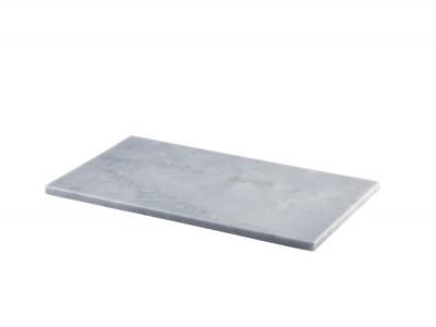 Grey Marble Platter 32x18cm GN 1/3