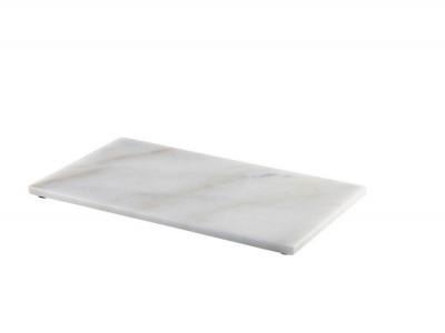 White Marble Platter 32x18cm GN 1/3