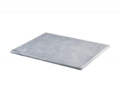 Grey Marble Platter 32x26cm GN 1/2
