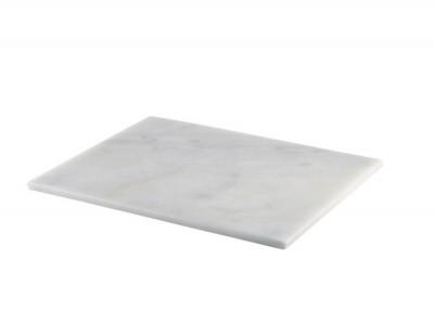 White Marble Platter 32x26cm GN 1/2