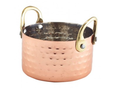 Mini Hammered Copper Casserole Dish...