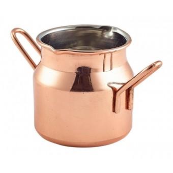 Mini Copper Milk Churn 2.5oz