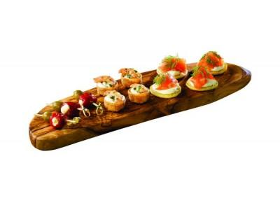 Olive Wood Rustic Platter 45 x 13cm+/-