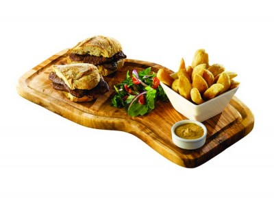 Olive Wood Serving Board W/ Groove 40...