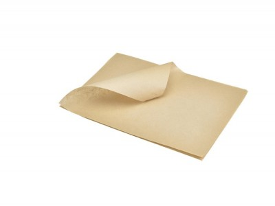 Greaseproof Paper Brown 25 x 35cm