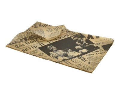 Greaseproof Paper Brown Newspaper...