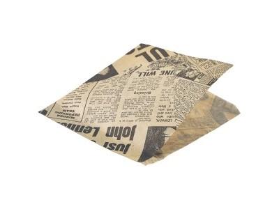 Greaseproof Paper Bags Brown...