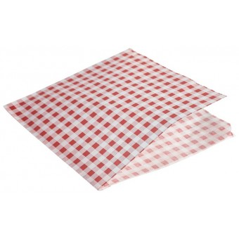 Greaseproof Paper Bags Red...