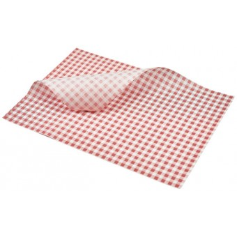 Greaseproof Paper Red...