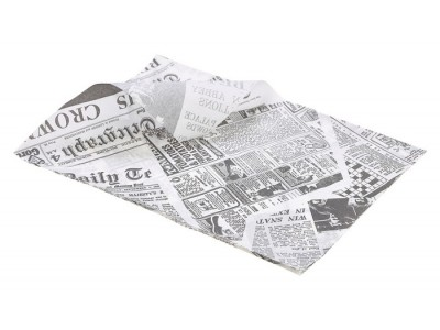 Greaseproof Paper White Newspaper...