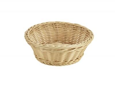 Round Polywicker Basket 21Dia x 8cm
