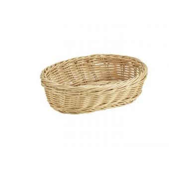 Oval Polywicker Basket 22.5...