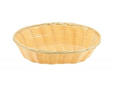 """Oval  Polywicker Basket 9""""X6""""X2.25"""""""