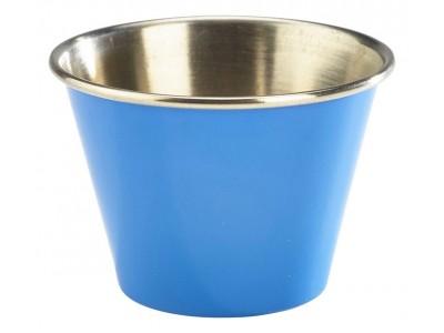 2.5oz Stainless Steel Ramekin Blue