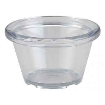 Ramekin 1.5oz Smooth Clear