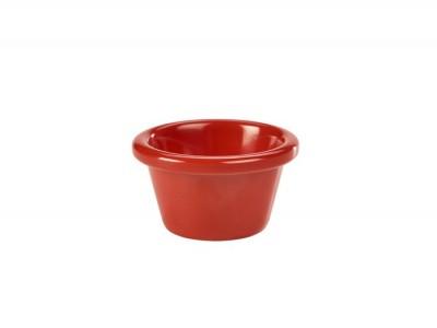 Ramekin 2oz Smooth Red