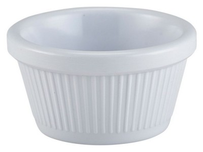 Ramekin Fluted 2oz White 71X36mm