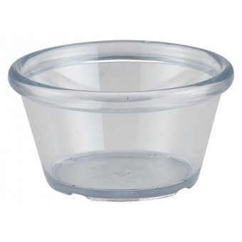 Ramekin 3oz Smooth Clear