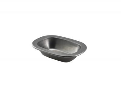 Vintage Steel Pie Dish 16cm