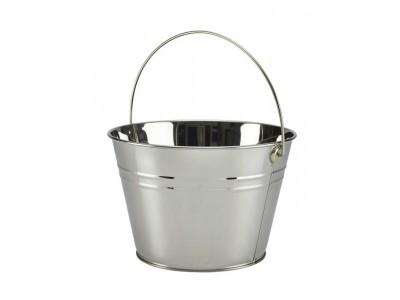Stainless Steel Serving Bucket 25cm Dia