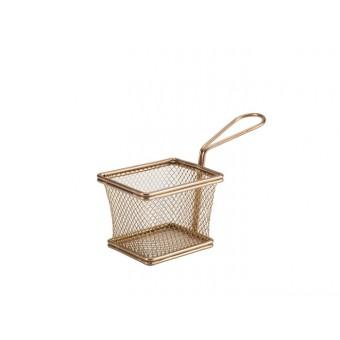 Copper Serving Fry Basket...