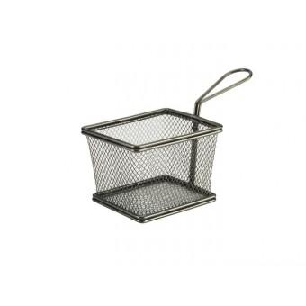 Black Serving Fry Basket...