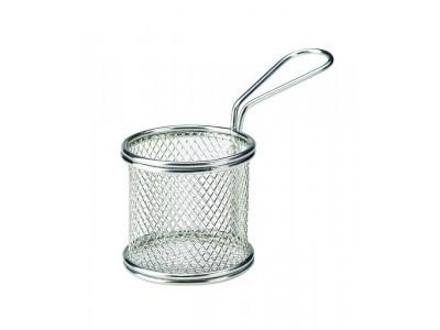 Serving Fry Basket Round 8X7.5cm