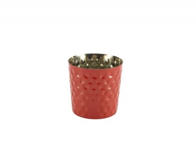 S/St. Serving Cup Hammered 8.5 x...