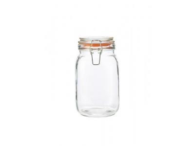 Genware Glass Terrine Jar 1.5L