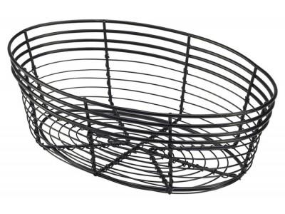 Wire Basket, Oval 25.5 x 16 x 8cm