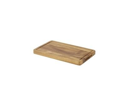 Genware Acacia Wood Serving Board GN 1/4