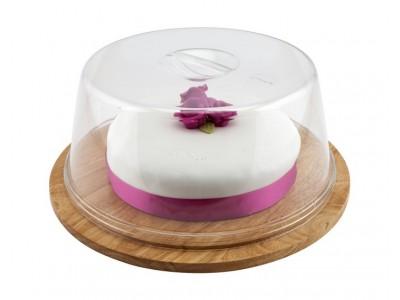 Genware Round Wood Serving / Cake...